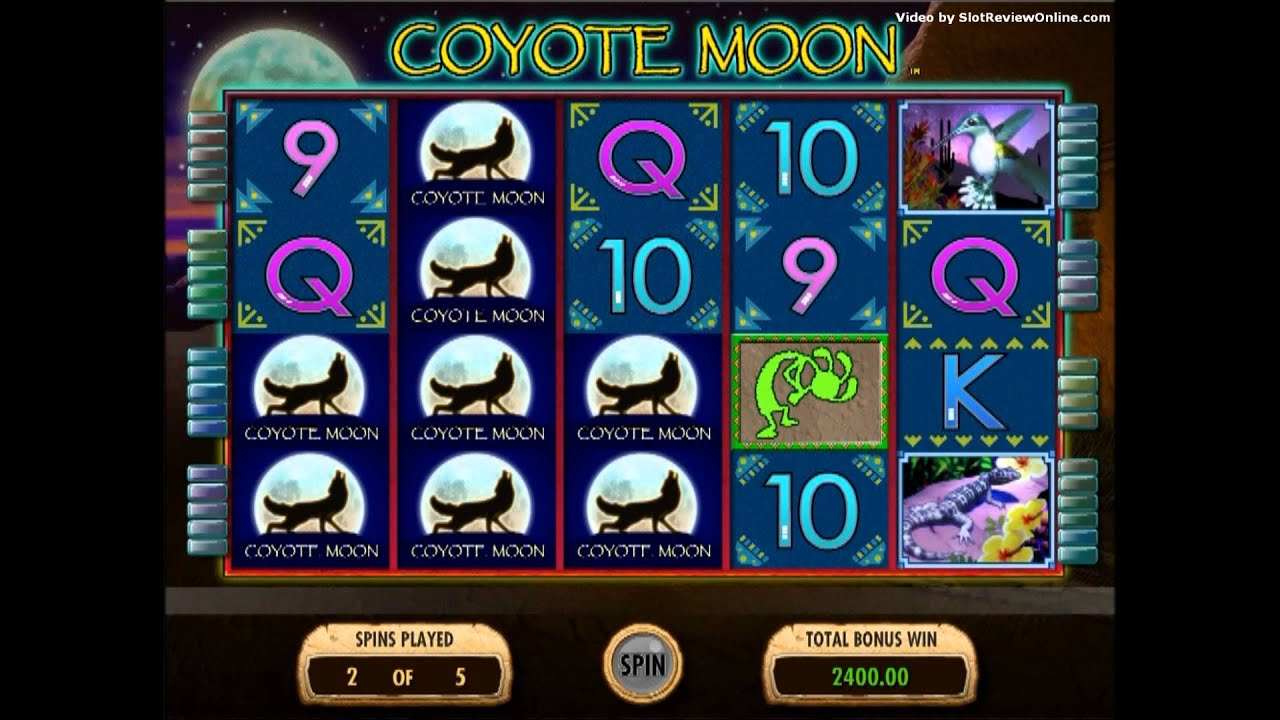 Coyote Moon Casino Game