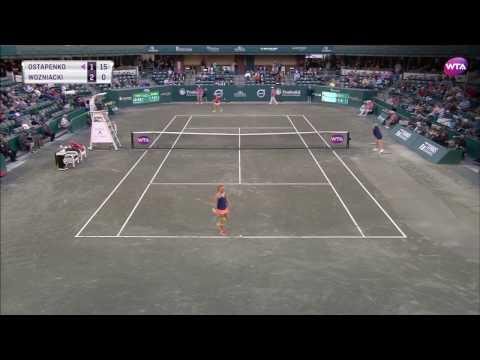 Jelena Ostapenko vs Caroline Wozniacki