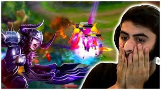 When AP Shyvana Gets Played in League of Legends Competitive Play... Yassuo is Ugly?!? - LoL Moments