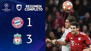 Bayern Munich 1-3 Liverpool – GOLES Y RESUMEN – VUELTA OCTAVOS DE FINAL – UEFA Champions League