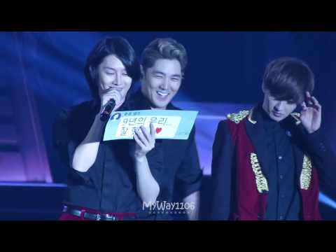 141108 SS6 in HongKong - Talking part 3 (Heechul Focus)