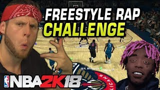 Freestyle Rap Only Challenge - NBA 2K18