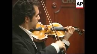 Stradivarius sold for 1.2 million US dollars at Christies