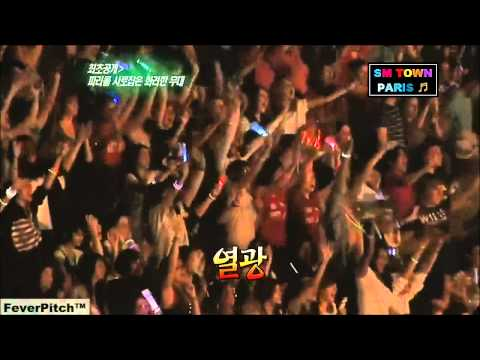 SM TOWN LIVE in Paris - Scenes of Entry & Performance 110610