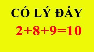 5 câu đố toán học khó có đáp án hay hơn