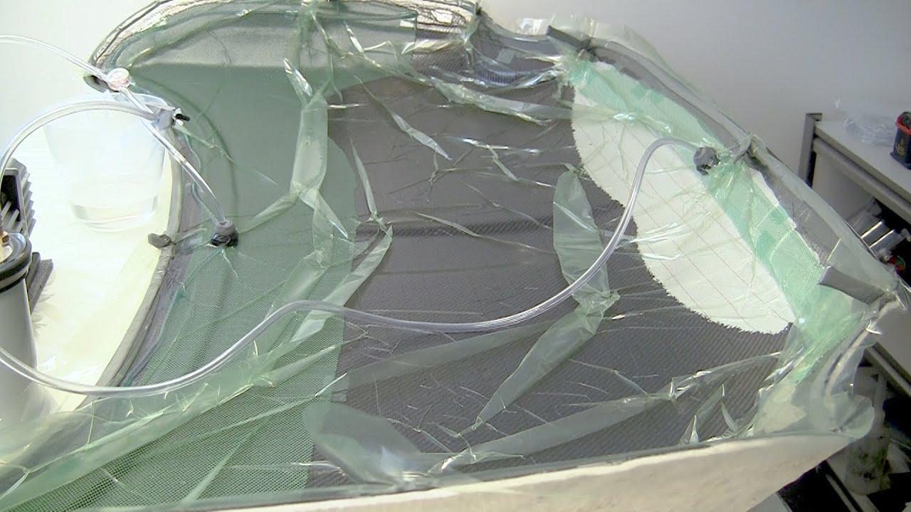 How To Make A Carbon Fiber Car Bonnet Hood Part 2 3