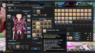 Costume Dyes & Fortification!