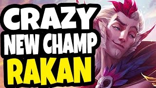 THE NEW CHAMP IS BUSTED!! Rakan Support Gameplay ft. Phy - League of Legends