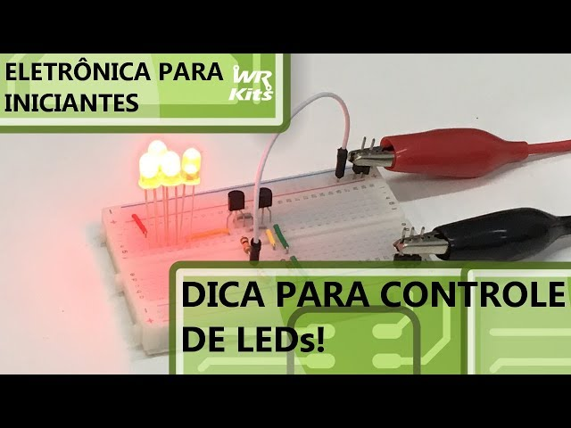 DICA INCRÍVEL PARA O CONTROLE DE LEDs! | Eletrônica para Iniciantes #150