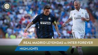 REAL MADRID LEYENDAS 2-2 INTER FOREVER | Highlights | Zanetti, Figo, Zidane and more...