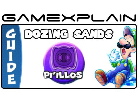 Mario & Luigi: Dream Team - Dozing Sands Pi'illo Locations (Guide & Walkthrough) - Smashpipe Games