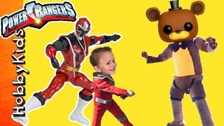 Power Rangers Toy Adventure with Imaginext Surprises by HobbyKidsTV