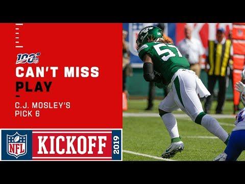 Jets Snag Pick Six off Josh Allen & Bills!