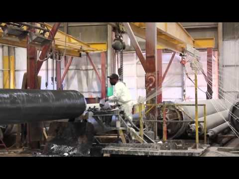 Composite Filament Winding Process - Custom FRP Pipe | Beetle Composites