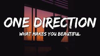 One Direction - What Makes You Beautiful (Lyrics)