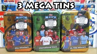 Match Attax 18/19 3 Mega Tin Opening   3 Superstar Limited Editions   Exclusive Cards!