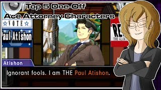 Top 5 One-Off Ace Attorney Characters - Turnabout Robin