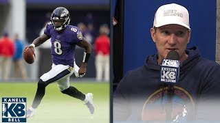 Danny Kanell: Lamar Jackson is Michael Vick 2.0   Kanell & Bell