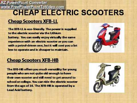 Buy Cheap Electric Scooters from Leading UK Company