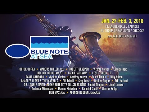 Highlights from Blue Note at Sea 2017