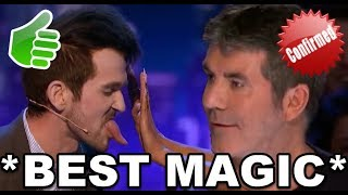Top 5 *BEST MAGICIANS* That Will BLOW Your Mind! America's Got Talent & Britain's Got Talent!