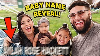 OUR BABY NAME REVEAL!!!