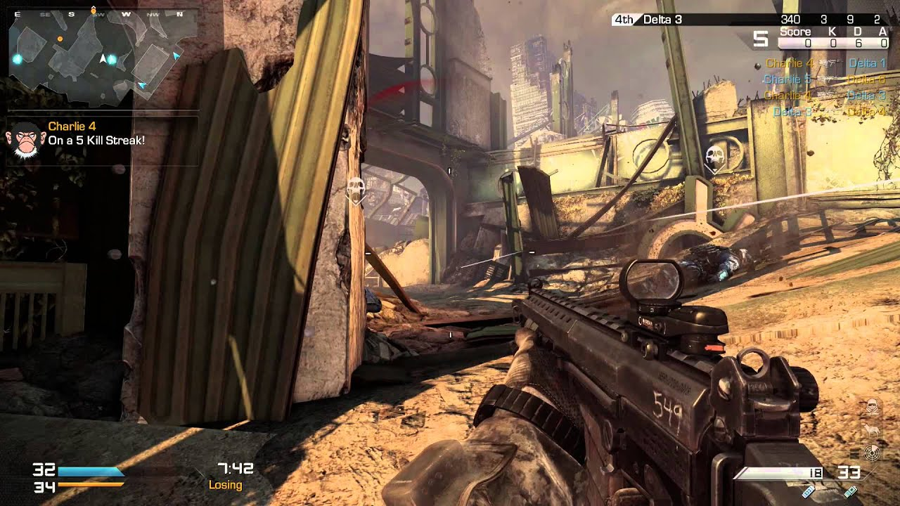 Duty Ghosts Multiplayer Gameplay New Map Cod Mp – Dibujos Para Colorear
