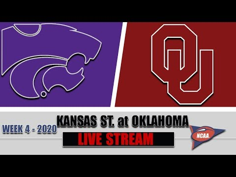 Kansas State Wildcats vs Oklahoma Sooners Live | 2020 College Football Week 4 | 9/26/2020