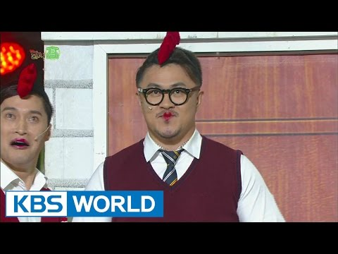 Chicken High school | 닭치고 (Gag Concert 2015.01.17)