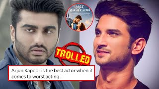 Arjun Kapoor brutally trolled for replacing late Sushant i..