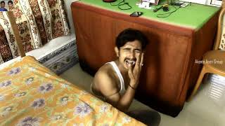Funny Videos 2019 | Oi Kan Dhor | ওই কান ধর | new Comedy Film | Subhas Koley | Akanto Apon Group