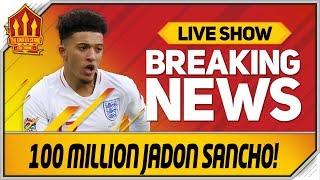 Jadon Sancho to Manchester United? Man Utd Transfer News
