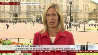 BBC News Special - The UK's New Prime Minister: 13th July 2016