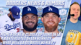 Dodgers Interested in Trading For Ian Kennedy, Exploring Closer Options To Replace Kenley Jansen