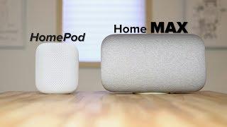 HomePod vs Google Home Max - Ultimate Comparison!