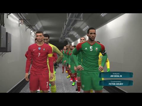 لعبة .. المغرب يفوز على البرتغال في مونديال روسيا