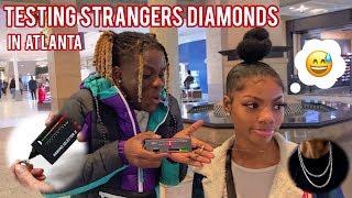 Testing Strangers Diamonds 😭💎 Atlanta Mall Edition | Public Interview