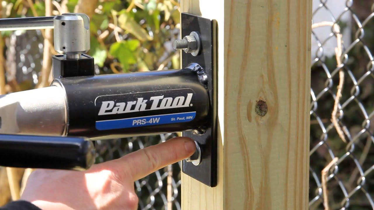 Bike Repair Stand Park Tool Prs 4w 1 Wall Mount