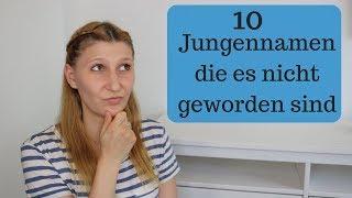 TOP 10 JUNGENNAMEN die es nicht geworden sind I Unsere Favoriten 💙 I AllesClärchen
