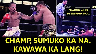 Interim Champion na Knockout Artist Sumemplang kay Casimero