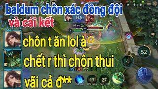 Troll Game _ Baldum Chôn Đồng Đội Tức Đập Máy Hài Hước | Yo Game