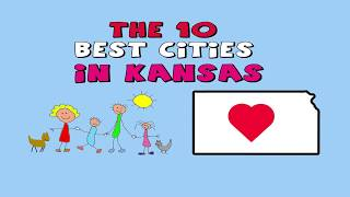 The 10 BEST CITIES to Live in Kansas