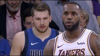 Dallas Mavericks vs LA Lakers- 1st Half Highlights   December 29, 2019   NBA 2019-20
