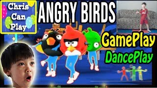Gameplay ANGRY BIRDS SONG (2019) Wii U Nintendo Switch | ChrisCanPlay