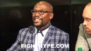 MAYWEATHER & BADOU JACK EXPLAIN WHY HE WON THE FIGHT; INSIST STEVENSON