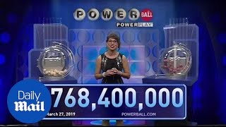 Winning numbers read in historic $768M Powerball drawing