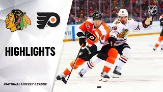 Flyers @ Blackhawks 10/04/19 Highlights