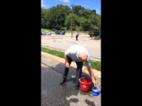 BayCoast Bank's CFO Jim Wallace takes on the #ALSicebucketchallenge