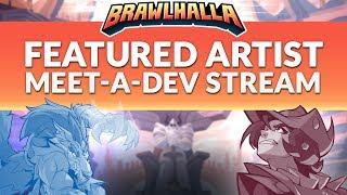 Meet A Dev with Manny! - Brawlhalla Dev Stream Montage
