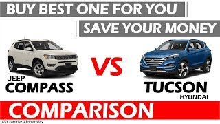 HYUNDAI TUCSON VS JEEP COMPASS |BEST SUV UNDER 25 LAKHS IN INDIA |CAR OVER 15 LAKHS IN INDIA 2018